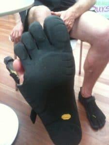 Vibrams five finger shoes 5
