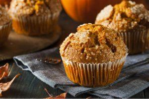 homemade hazelnut orange muffins