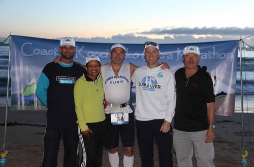 The Crew of the Coast to Kosciuszko ultra marathon