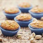 delicious homemade pistachio muffins