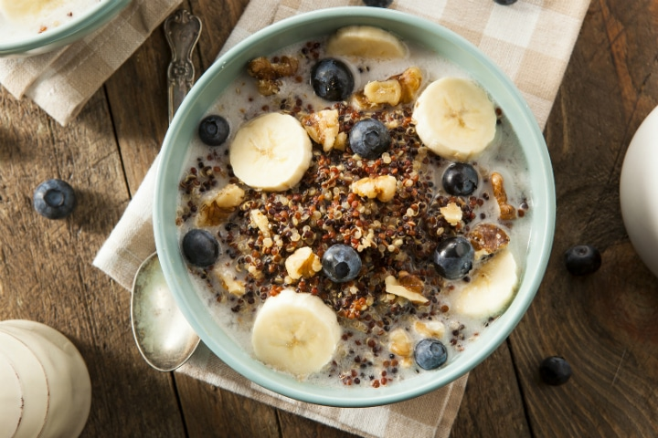High Protein Breakfast: Winter Quinoa Porridge