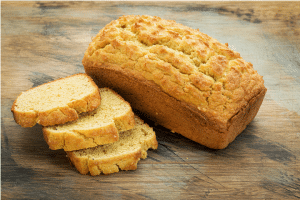 Homemade low carb besan & almond bread