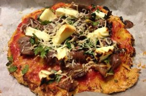 high protein pizza