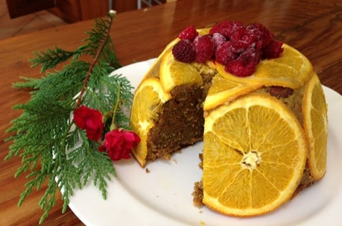high protein christmas pudding