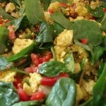 Paleo Recipe Veggie Scrambled Eggs