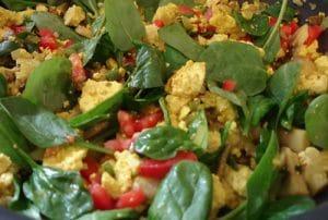 Paleo Recipe Veggie Scrambled Eggs