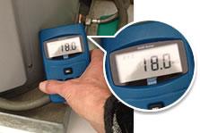 emf meter reading boiler