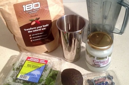 High Fat Meal Replacement Shake