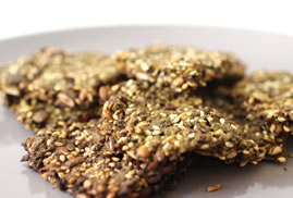 flaxseed oil free crackers