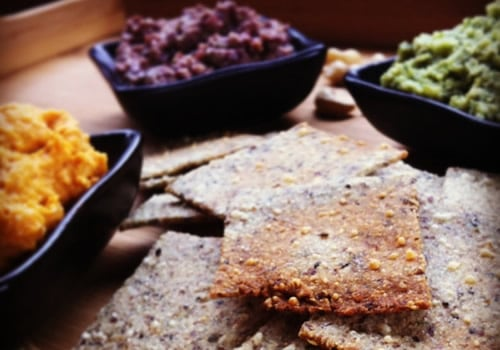 homemade healthy crackers