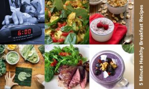quick healthy breakfast ideas