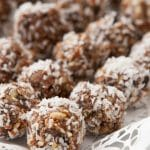 4 Ingredient Healthy Protein Snack Balls