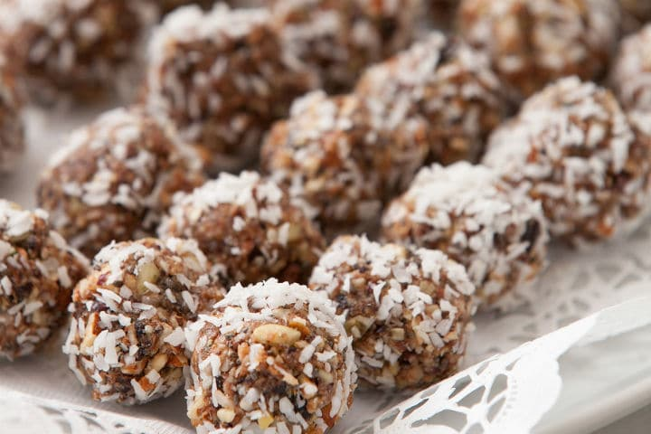 Super Simple Healthy Protein Ball Snacks