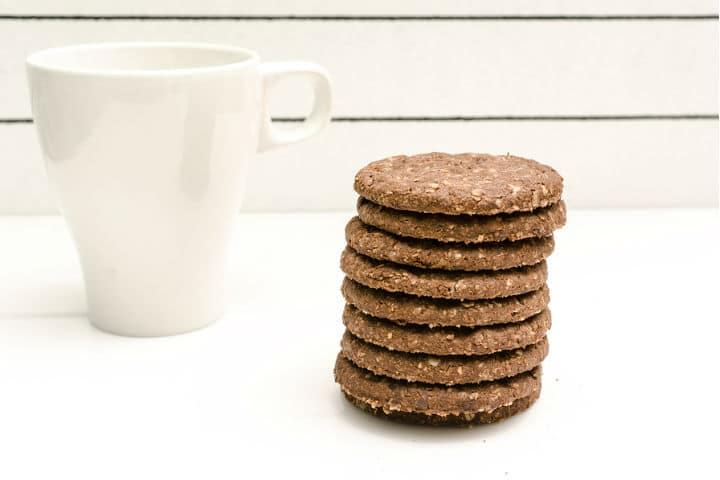 180 Protein Chocolate Raw Coffee Biscuits