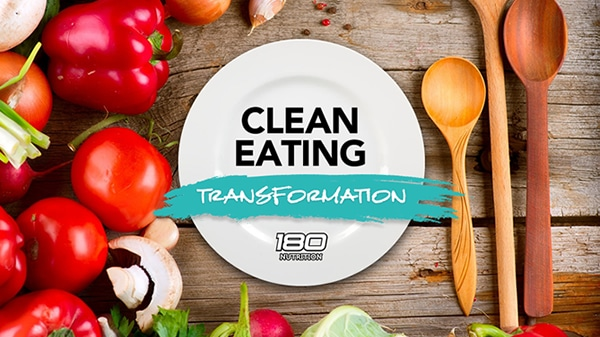 clean eating transformation heading