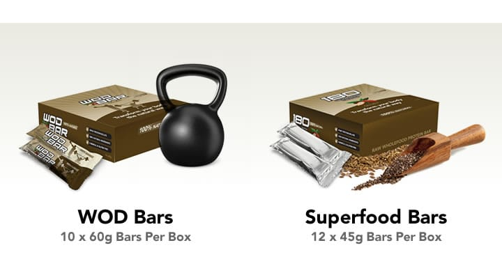 180 nutrition protein bars