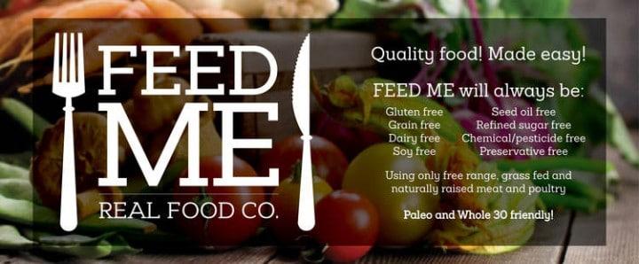 feed me real food