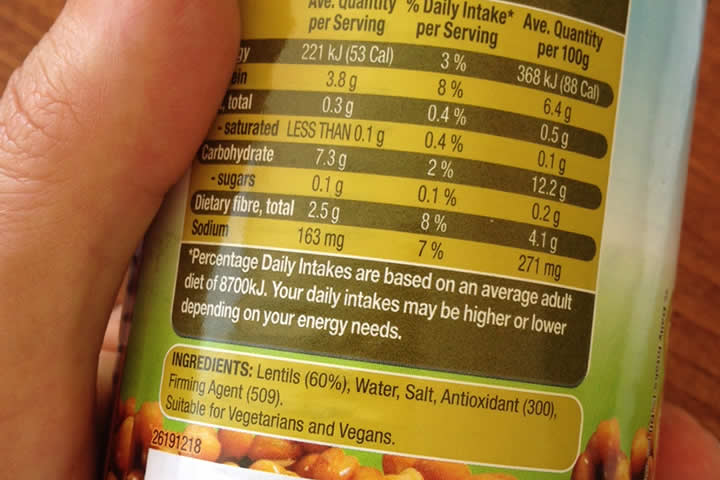 Decoding Food Labels to Make Healthier Choices