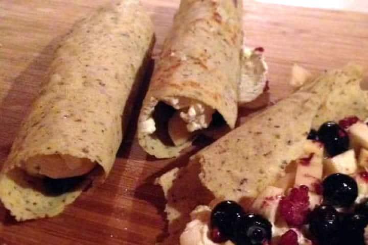 gluten free paleo wraps