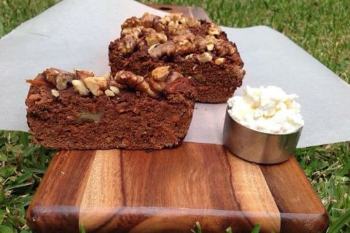 Chocolate Protein_Carrot & Walnut Loaf