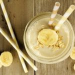 Banana cream post workout smoothie