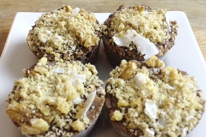 healthy_recipes walnut tahini muffins