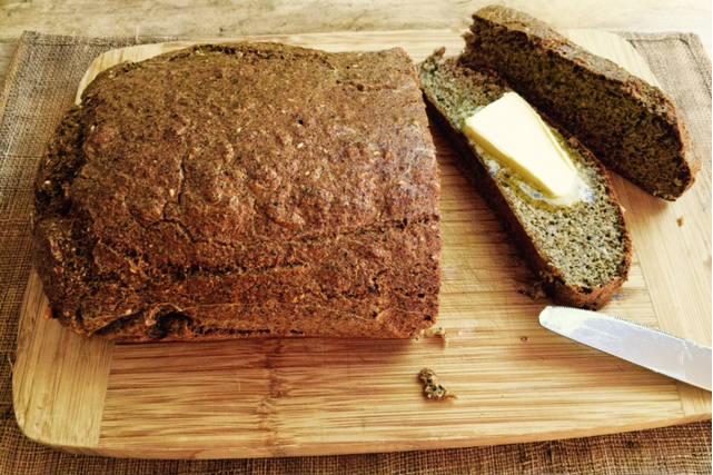 Gluten free high protein quinoa bread