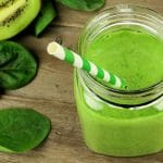 Green Gut Loving High Protein Breakfast Smoothie