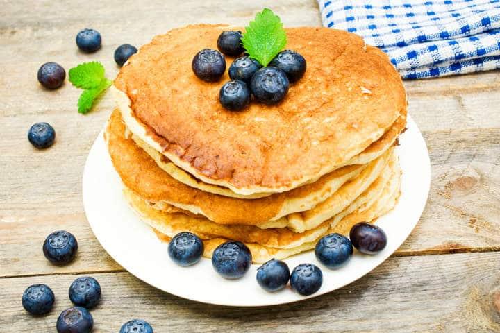 healthy gluten free high protein pancake