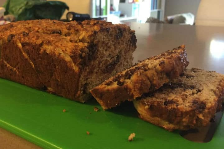 Healthy Gluten Free Banana Bread
