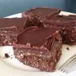 healthy chocolate brownie