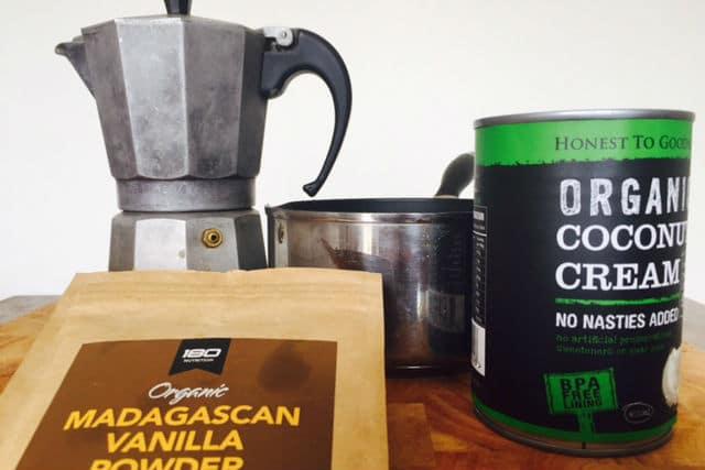 organic vanilla coffee