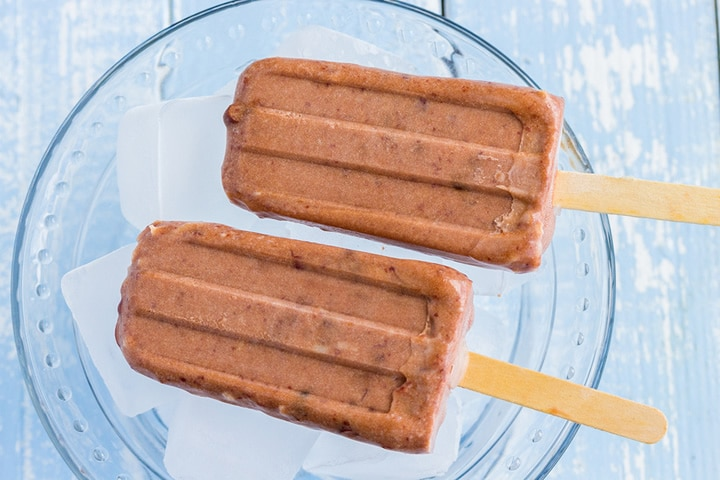 dairy free Chocolate popsicles