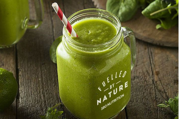 180 nutrition gut loving green smoothie