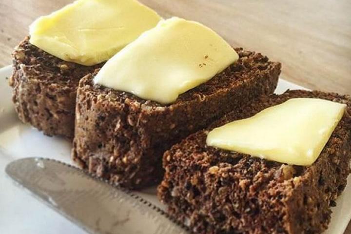 quinoa walnut healthy bread recipe