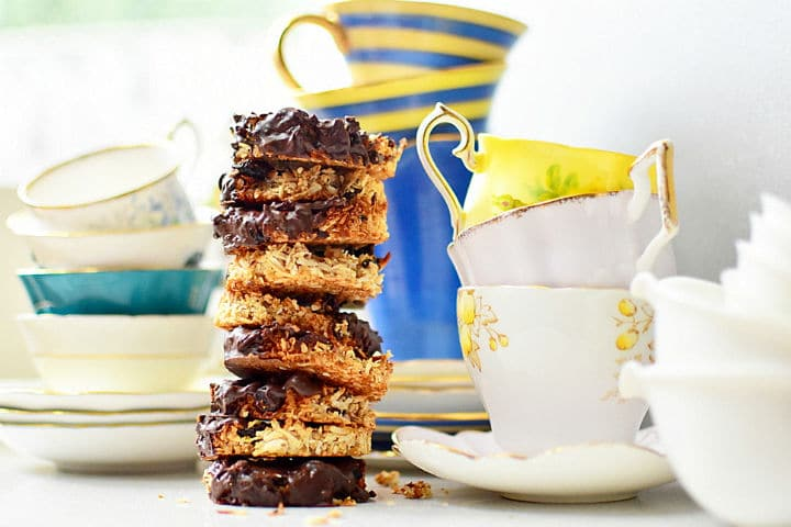 Gluten-free Chocolate and Cranberry Coconut MacaroonGluten-free Chocolate and Cranberry Coconut Macaroon