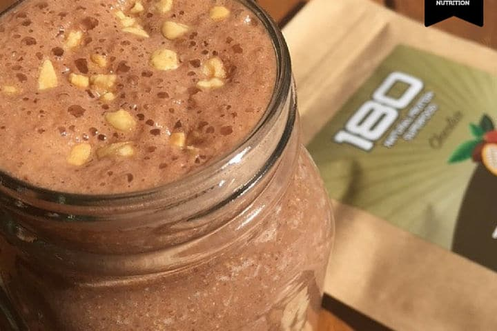 180 Peanut Butter and Banana Smoothie
