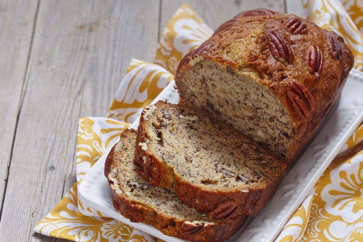 Healthy Protein Rich Banana Bread