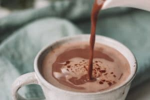 paleo protein hot chocolate