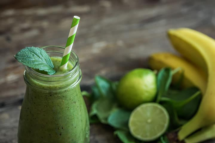 healthy mint smoothie recipe