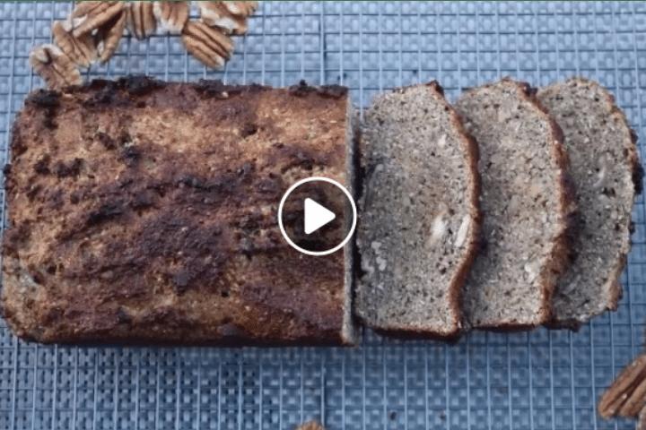 homemade healthy banana bread