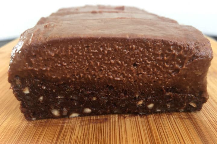 chocolate protein brownie
