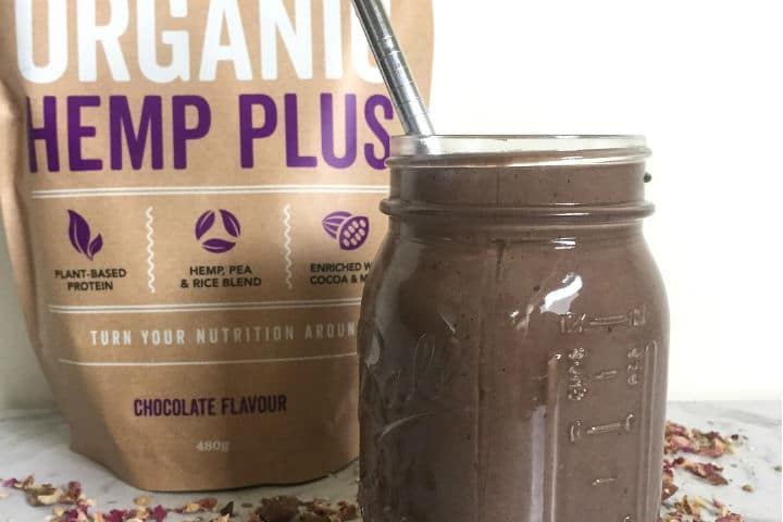 180 Vegan and Organic Hemp Plus Smoothie