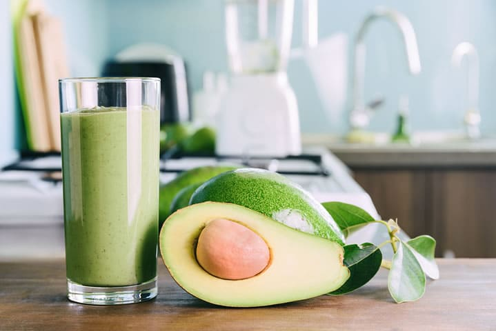 Avocado & Coconut Keto Smoothie