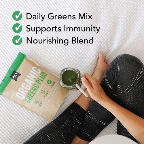Organic Greens Benefits