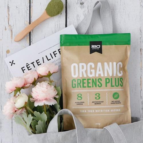 Organic Greens Plus Bag