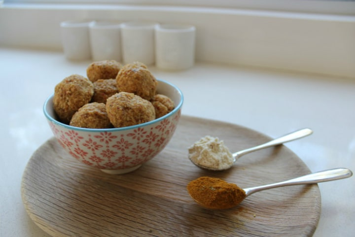 Turmeric Paw Paw Protein Balls