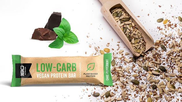 Low Carb Protein Bars - Organic Vegan Protein Bars - 180 ...