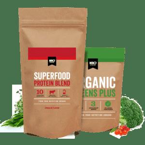 180 Nutrition Jumbo Pack & Greens Bundle
