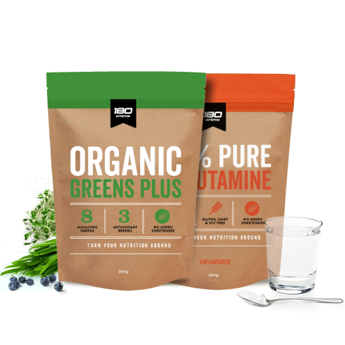 180 Nutrition Greens & L-Glutamine Bundle